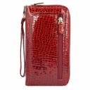 Женский кошелек на молнии красный AKA 430/319 Турция
