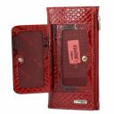 Женский кожаный кошелек красный AKA 462/309 Турция