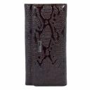 Женский кожаный кошелек коричневый питон KARYA 1094/209 Турция