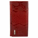 Женский кожаный кошелёк красный AKA 443/309 Турция