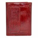 Женский маленький кошелек кожаный красный AKA 445/317 Турция