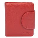 Женское портмоне из кожи красное AKA 458/301 Турция