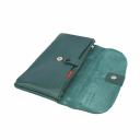 Жіноче портмоне шкіряне зелений AKA 491/501 Туреччина