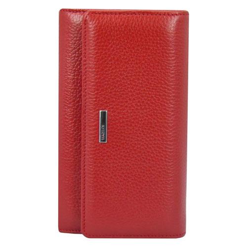 Жіночий гаманець шкіряний червоний KARYA 1088/301 Туреччина