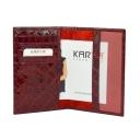 Обложка на паспорт кожаная KARYA 094/315 Турция