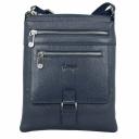 Чоловіча сумка через плече синього кольору Karya 0772/401 Турція