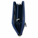 Клатч кожаный синий AKA 430/401-1 Турция
