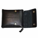 Кожаная мужская сумка черная Karya 0811/101 Турция