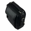 Кожаная сумка мужская черная AKA 305/101 Турция