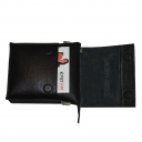 Кожаная сумка мужская черная Karya 0785/101 Турция