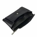 Кожаный клатч черный 2541/101 Украина