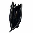 Кожаный клатч мужской синий Karya 0705/401 Турция