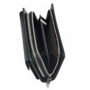 Кожаный мужской клатч черный Karya 0796/101 Турция