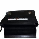Кожаный портфель мужской черный Karya 0146/101 Турция