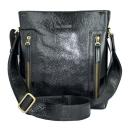 Мужская кожаная сумка черная Tony Bellucci 5001/101 Италия