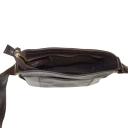 Мужская кожаная сумка коричневая шоколад Tony Bellucci 5001/201 Италия