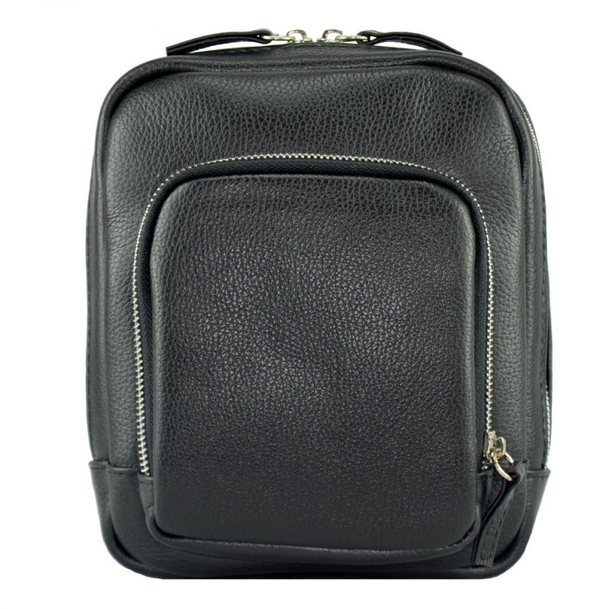 54e845a88b55 Мужская сумка через плечо 0185/101 Украина. Мужская кожаная сумка черная ...