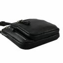 Мужская сумка через плечо черная 0286/101 Украина