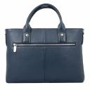 Мужская сумка для документов синяя Karya 0761/401 Турция