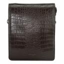 Мужская сумка из кожи коричневая Karya 0366/204 Турция