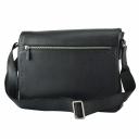 Мужская сумка из кожи черная Karya 0841/101 Турция