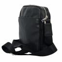 Мужская сумка из натуральной кожи черная 0148/101 Украина