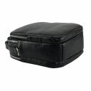 Мужская сумка из натуральной кожи черная 0246/101 Украина