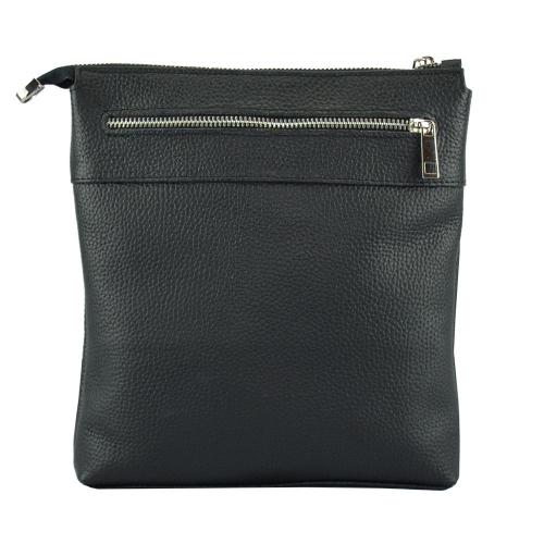 Мужская сумка из натуральной кожи черная 2012/101 Украина