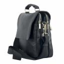 Мужская сумка недорого кожаная черная 0153/101 Украина