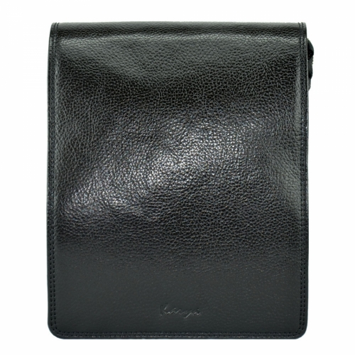 Мужская сумка кожаная черная Karya 0366/101 Турция