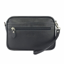 Мужская сумочка кожаная черная AKA 391/101 Турция