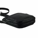 Мужские кожаные сумки черная 0287/101 Украина