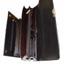 Мужской портфель кожаный черный Karya 0144/101 Турция