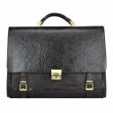 Портфель чоловічий шкіряний темний шоколад Tony Bellucci 5046/201 Італія