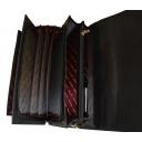 Портфель кожаный мужской черный Karya 0145/101 Турция