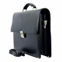 Портфель мужской черный кожаный Karya 0612/101 Турция