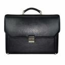 Портфель мужской кожаный черный Karya 0229/101 Турция