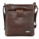 Шкіряна сумка чоловіча коричнева AKA 316/201-1 Турція