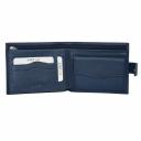 Чоловічий гаманець шкіряний синього кольору KARYA 0440/401 Турція