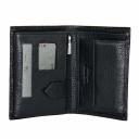 Чоловічий гаманець шкіряний чорний KARYA 0932/104 Туреччина