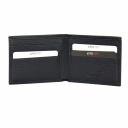 Чоловічий гаманець шкіряний чорний KARYA 0941/101 Туреччина