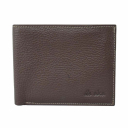 Чоловічий гаманець з натуральної шкіри коричневий AKA 725/201 Туреччина