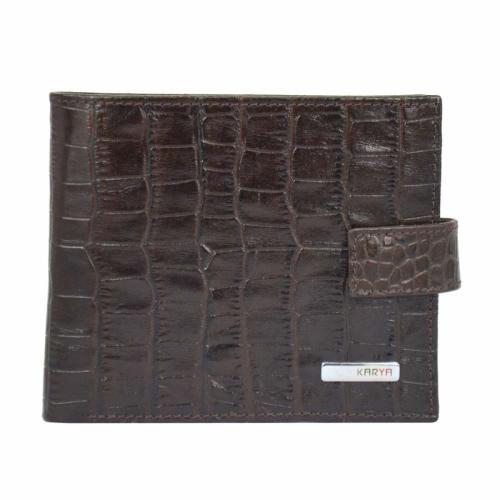Чоловічий кошелек коричневий KARYA 0440/204 Туреччина