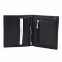 Чоловічий шкіряний гаманець чорний KARYA 0940/101 Туреччина