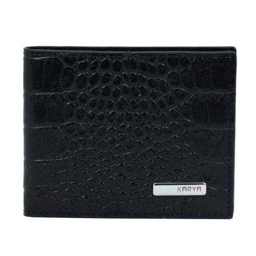 Зажим для денег кожаный KARYA 0903/104 Турция