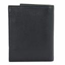 Кошелек мужской кожаный черный KARYA 0932/101 Турция