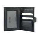 Кошелек портмоне мужской черный Karya 0927