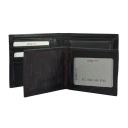 Мужское кожаное портмоне черное KARYA 0910/101 Турция