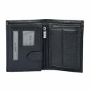 Мужское кожаное портмоне черное KARYA 0932/106 Турция