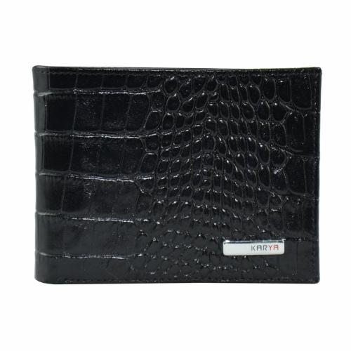 Портмоне кошелек мужской черный KARYA 0420/104 Турция
